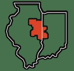 Illinois and Indiana Service Area