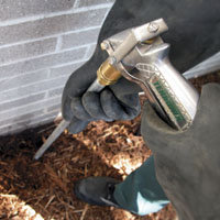 Termite Control Liquid Treatment